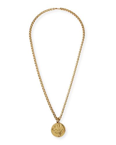 Shiny Griffin Pendant Necklace