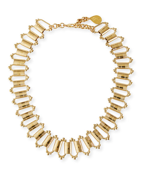 Devon Leigh Baroque Chain Necklace