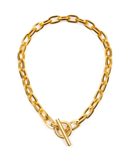 Ben-Amun Oval-Link Chain Necklace