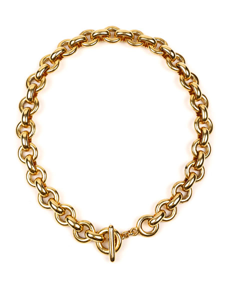 Ben-Amun Round-Link Chain Necklace