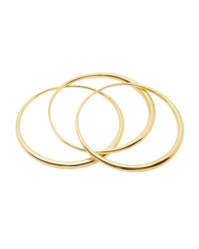 Farrah Bangle Bracelets, Set of 3