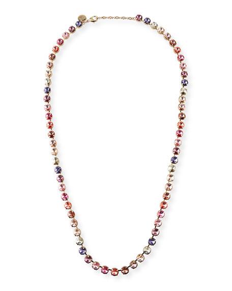 Rebekah Price Savannah Rainbow Crystal Necklace