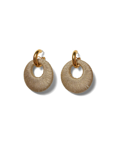 Lizzie Fortunato Orb Wrapped Earrings