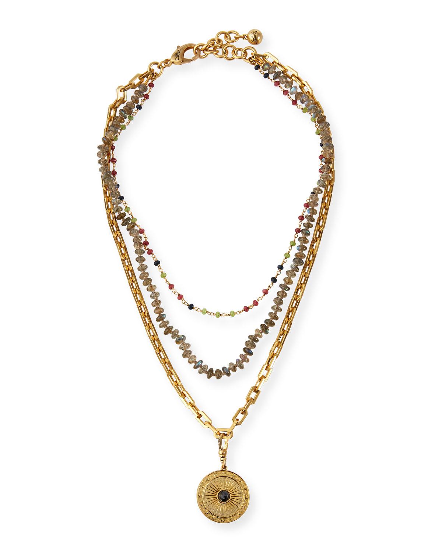 Lucky in Labradorite Necklace