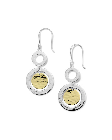 Ippolita Small Classico Snowman Earrings in Chimera Two-Tone