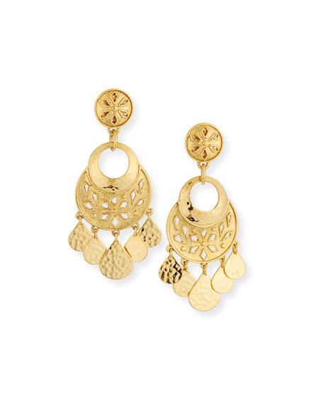 Jose & Maria Barrera Shaker Clip Earrings