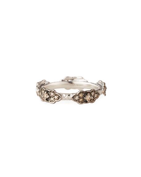 Armenta New World Diamond Multi-Scroll Ring, Size 6.5