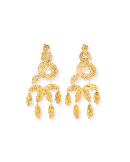 We Dream in Colour Ojai Earrings, Yellow