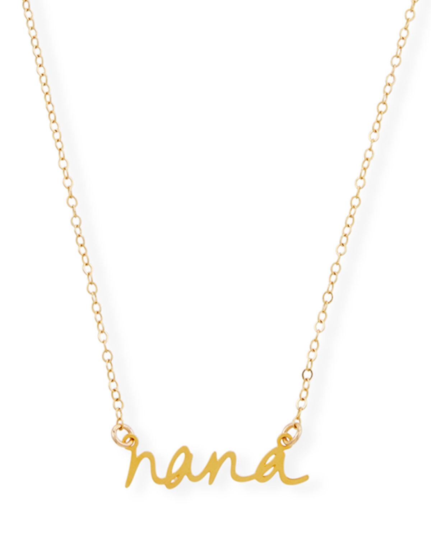 Nana Small Pendant Necklace