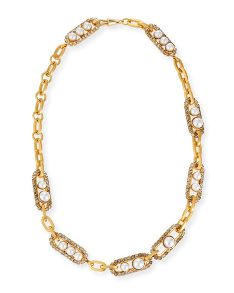 Elizabeth Cole Sedona Chain 8-Station Necklace