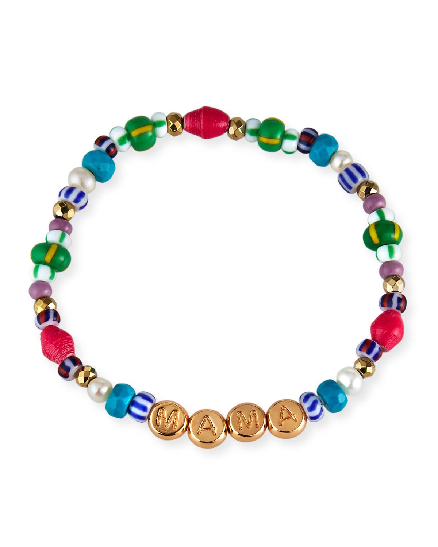 Mama Rainbow Stretch Bracelet