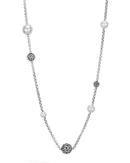 "John Hardy Classic Chain Pearl Sautoir Necklace, 36""L"