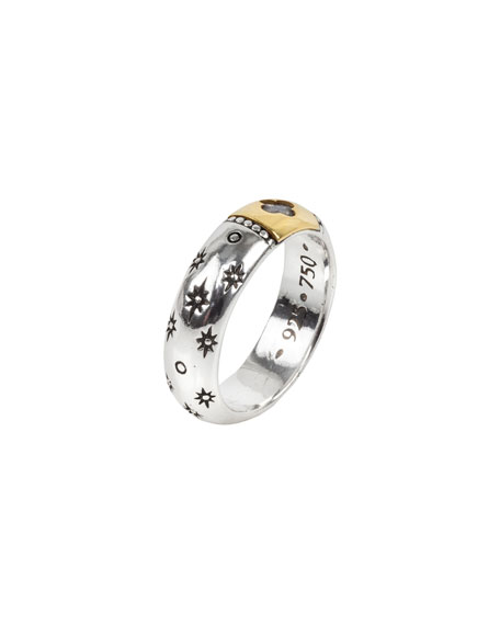 Konstantino Astria Interstellar Ring, Size 6-8