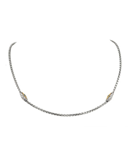 Konstantino Astria Blue Spinel Necklace