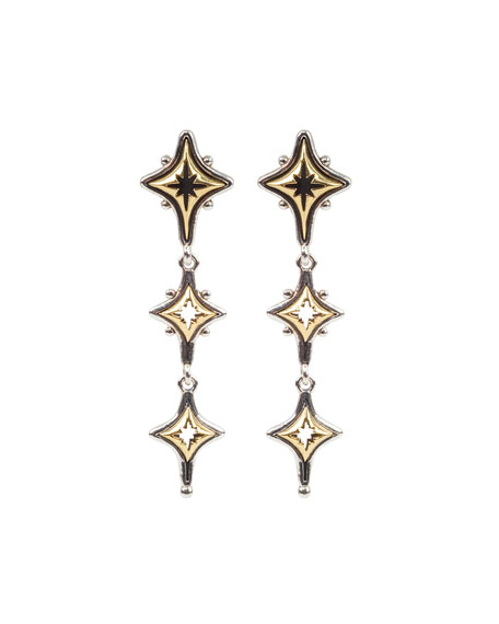 Konstantino Astria Starstruck Drop Earrings