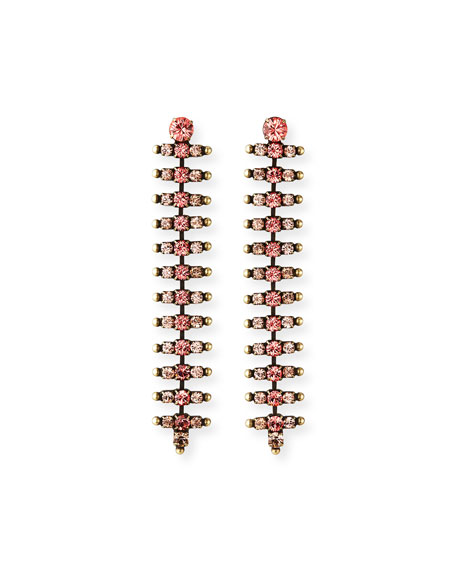 Auden Holloway Linear Crystal Earrings