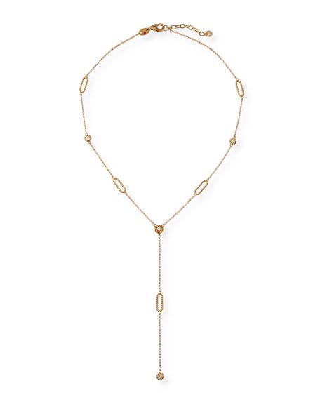 Roberto Coin Barocco 18k Diamond Y-Necklace