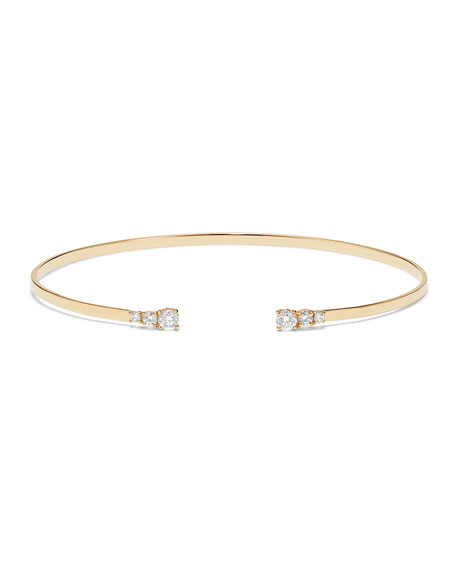 Lana 14k Echo Diamond Bracelet