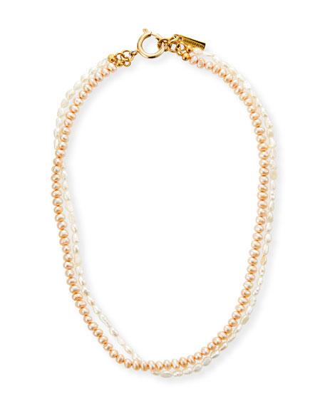 Jennifer Behr Cascais Double Strand Pearl Necklace