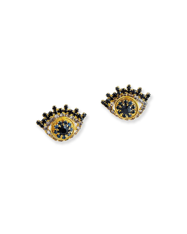 Zoelle Crystal Stud Earrings