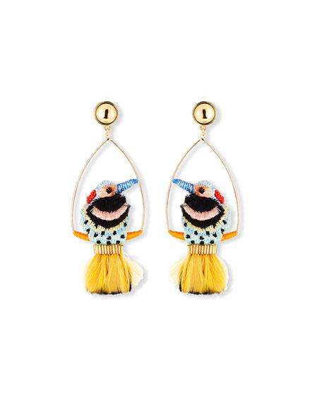 Mignonne Gavigan Woodpecker Swing Earrings