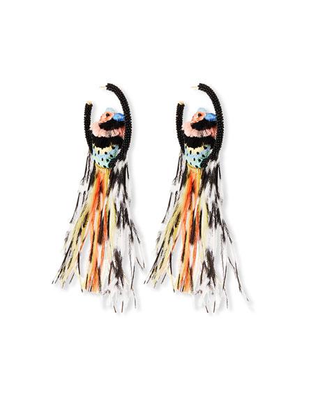Mignonne Gavigan Woodpecker Lux Earrings