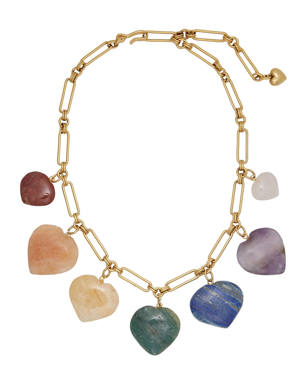 Carpe Diem Heart Necklace