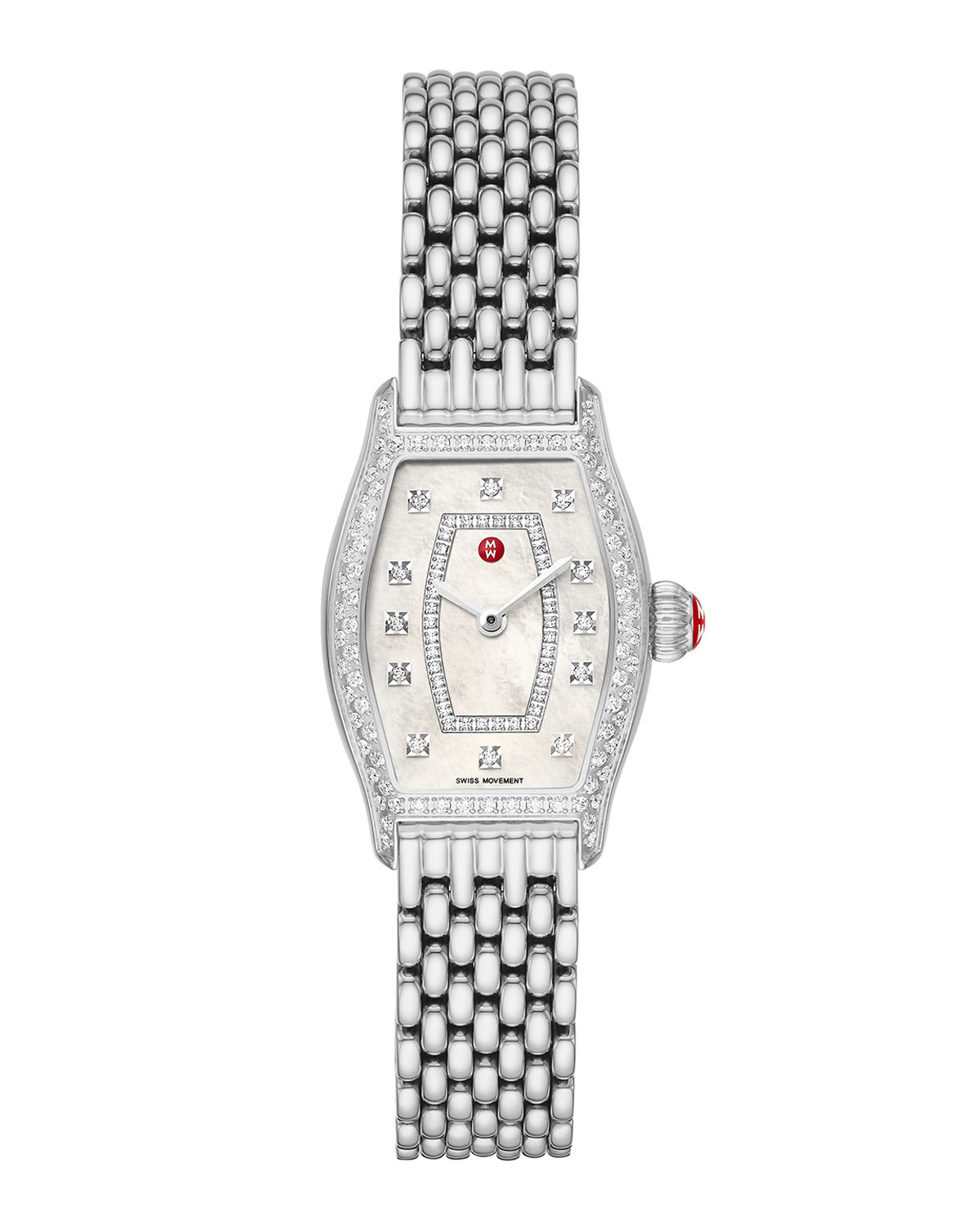 Coquette Stainless Diamond Watch