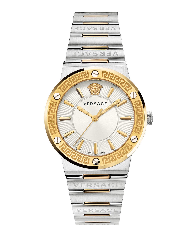 Greca Logo Watch with Bracelet Strap