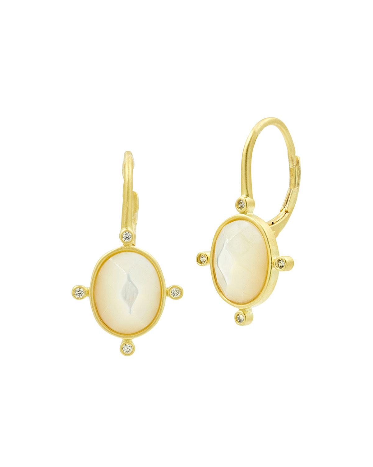 Never Enough Color Mother-of-Pearl Lever Back Earrings