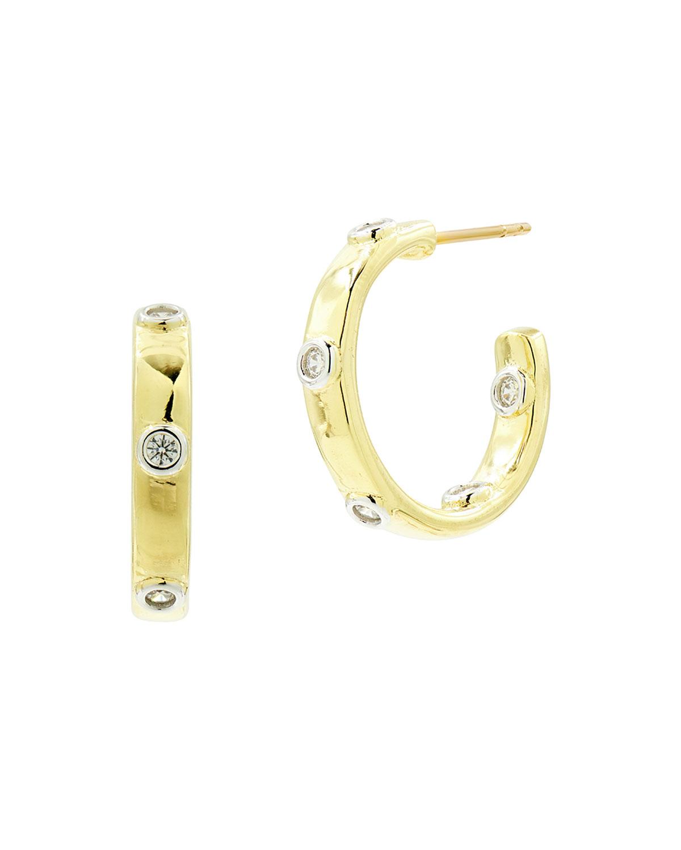 Radiance Chunky C-Hoop Earrings