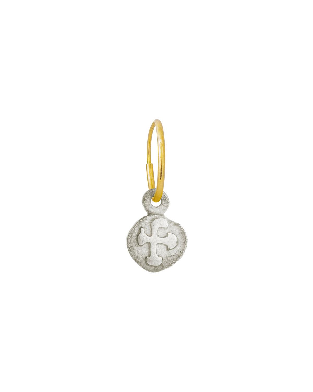 Tiny Marina Coin Earring