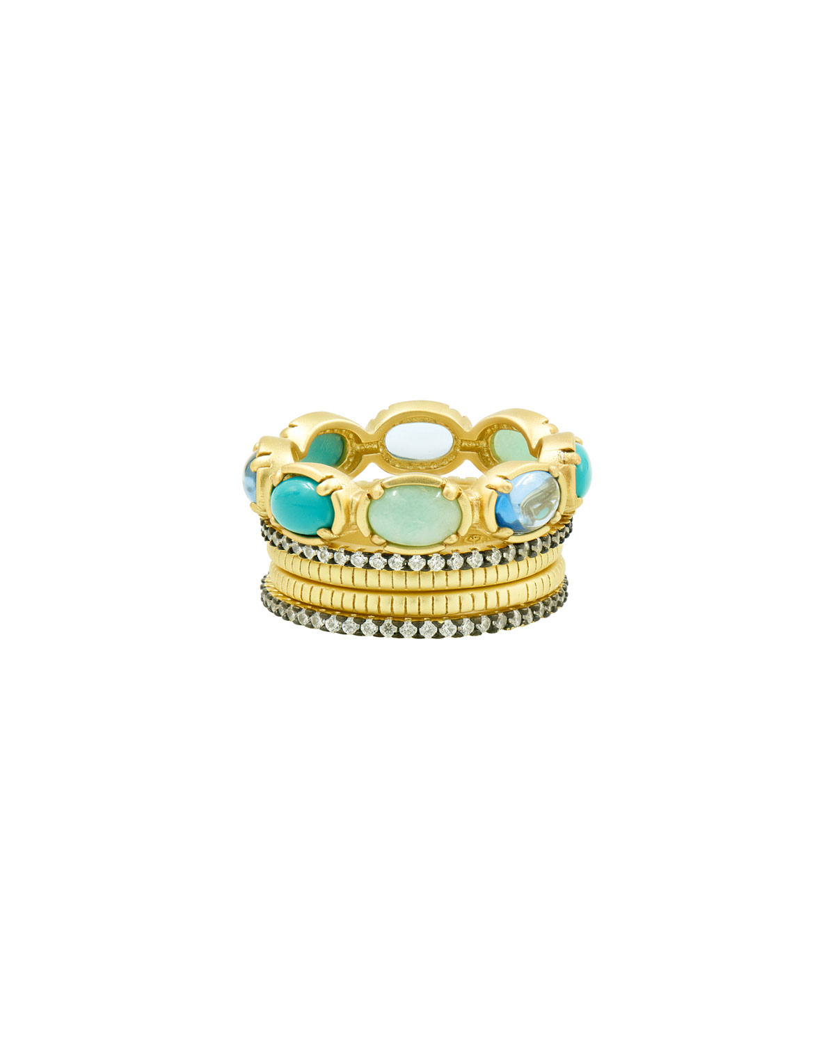 Multi-Stone and Cubic Zirconia Stack Rings