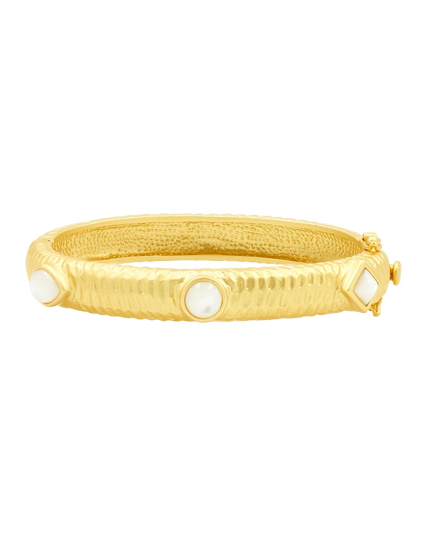 Mother-of-Pearl Bangle Bracelet