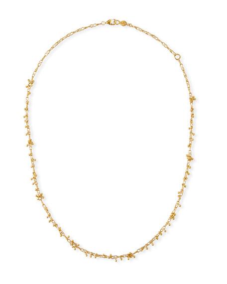 Gurhan Crisscross Chain Cluster Necklace