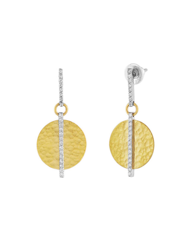 Lush Small Diamond Drop Earrings