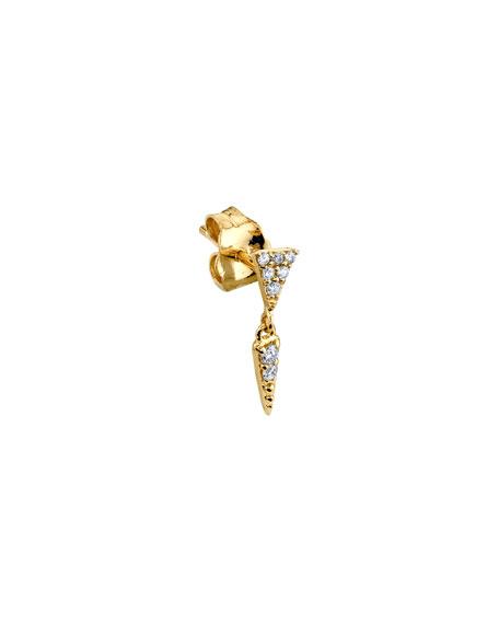 Sydney Evan 14k Diamond Fringe-Drop Earring, Single