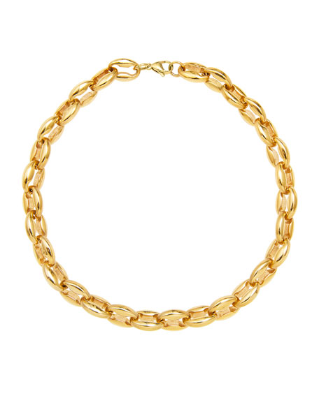FALLON Toscano Chain Choker Necklace