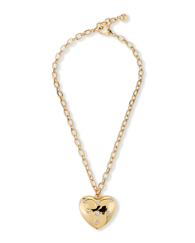 Belleza Heart Charm Necklace