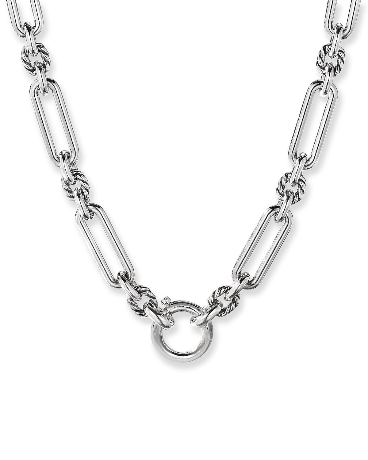 Lexington Chain Necklace in Sterling Silver