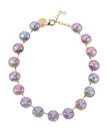 Rebekah Price Iris Necklace on Gold-tone