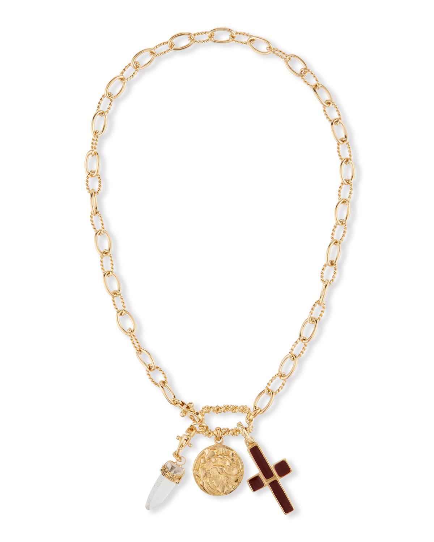 Constantine Charm Collar Necklace