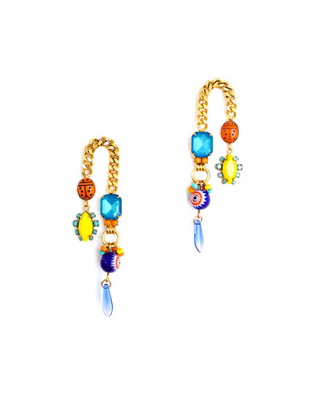 Elizabeth Cole Dalia Arch Earrings