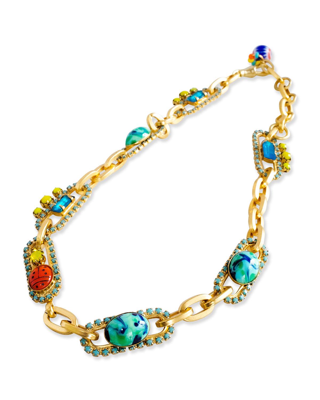 Silvia Multicolor Stone Necklace