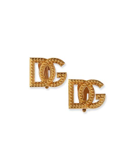 Dolce & Gabbana DG Logo Earrings