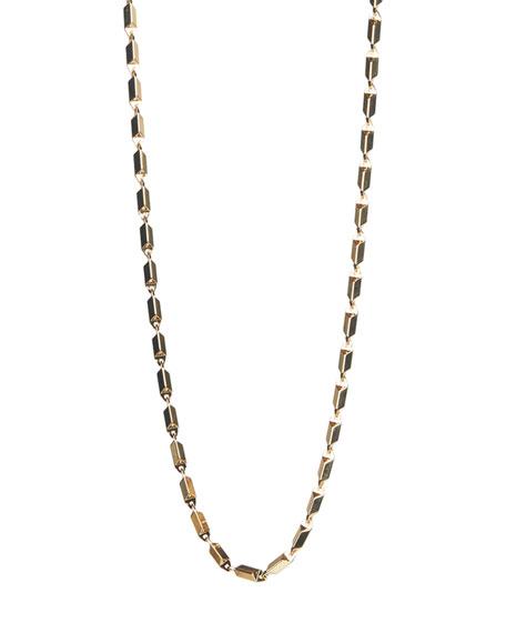 """Rebecca Minkoff Bar Chain Necklace, 24""""L"""