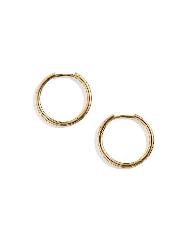 Verbena Huggie Hoop Earrings