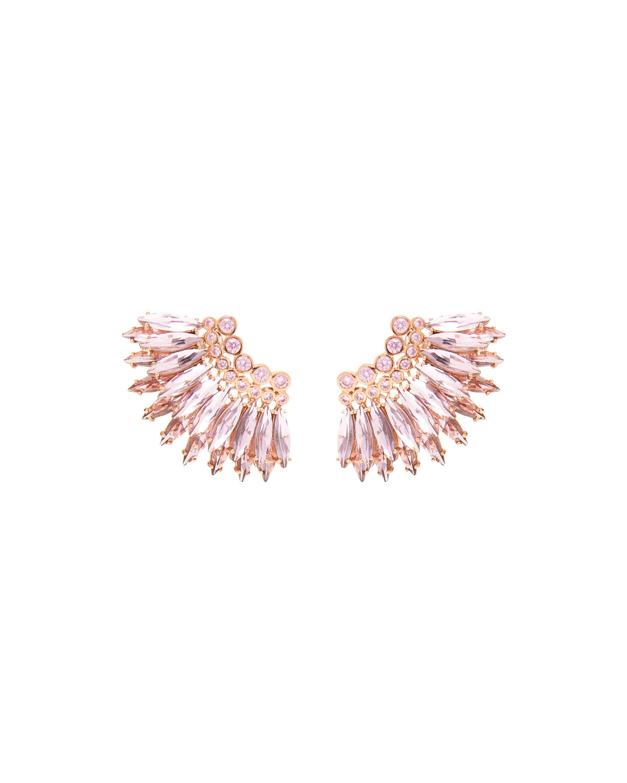 Mini Madeline Crystal Earrings