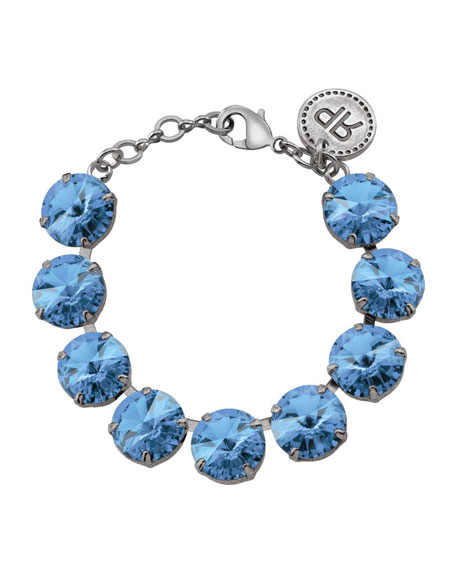 Rebekah Price Rivoli Bracelet in Light Blue