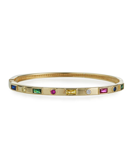 Tai Multicolor Stone Bangle Bracelet